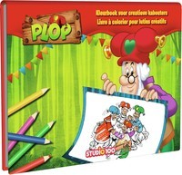 Kleurboek Plop: Voor alle creatieve Kabouters