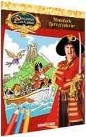 Kleurboek Piet Piraat: boot